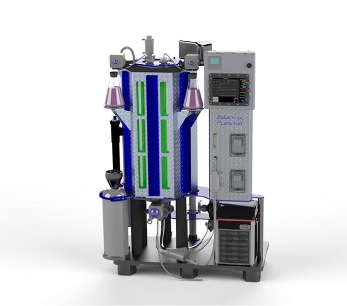 100 liter automated Photobioreactor for algae culture
